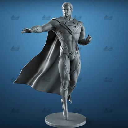 漫威Superman超人-3D打印
