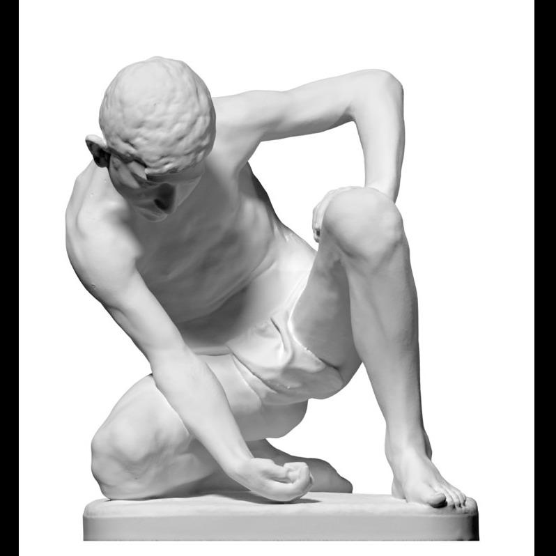 弹球手雕像Statue of The Marble Player