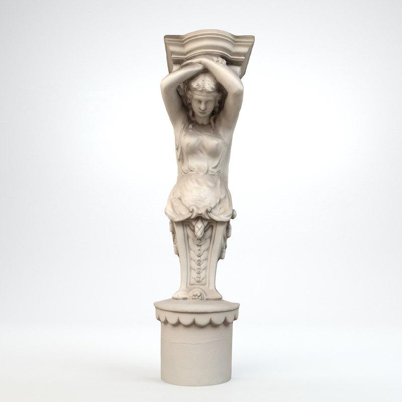 3D模型-艺术装饰-第一3D雕塑
