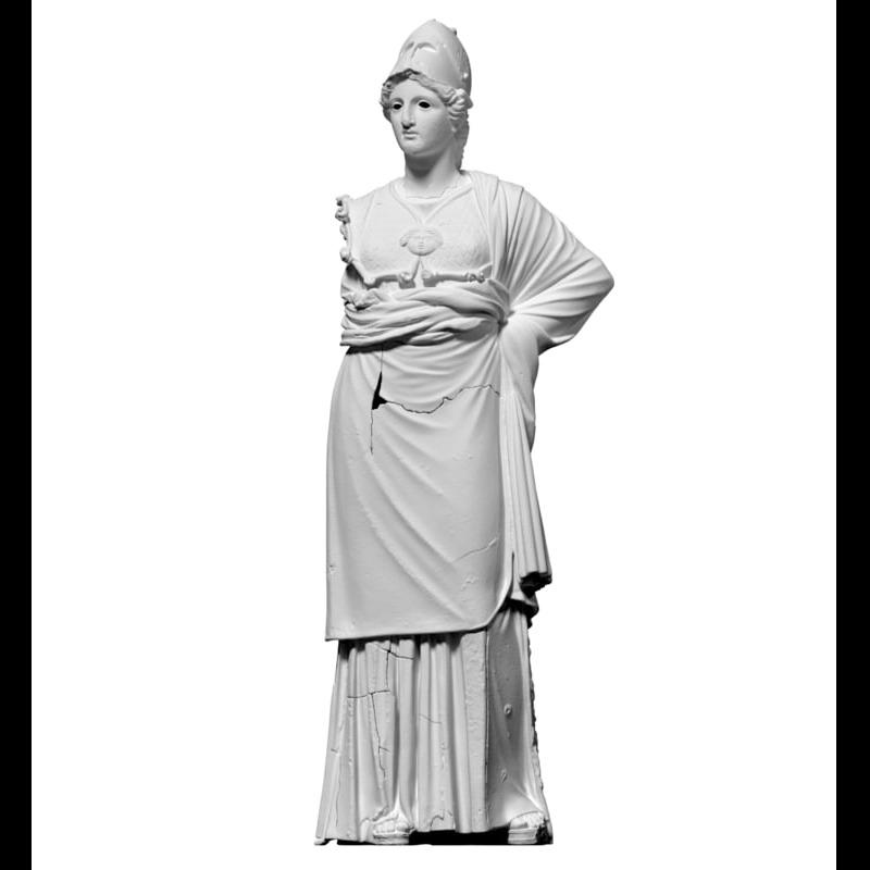 3D模型-雅典娜雕像(阿雷佐密涅瓦)