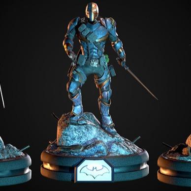 3D模型-威尔逊DC英雄 3D打印模型