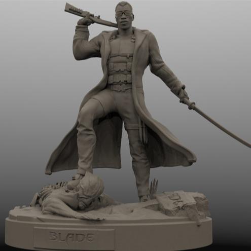 3D模型-刀锋战士|原型电影 3D打印模型stl