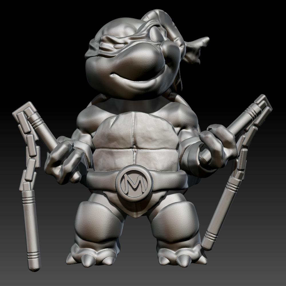 忍者神龟 米开朗琪罗/麦奇 Michelangelo/Mikey