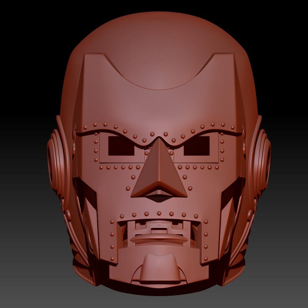 3D模型-末日博士传奇系列头盔尼科
