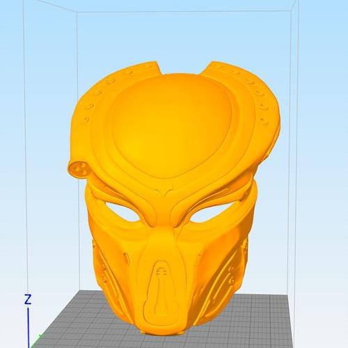 3D模型-逃犯捕食者头盔2018-Nikkoindustries