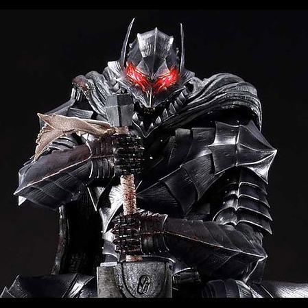 3D模型-狂暴的盔甲
