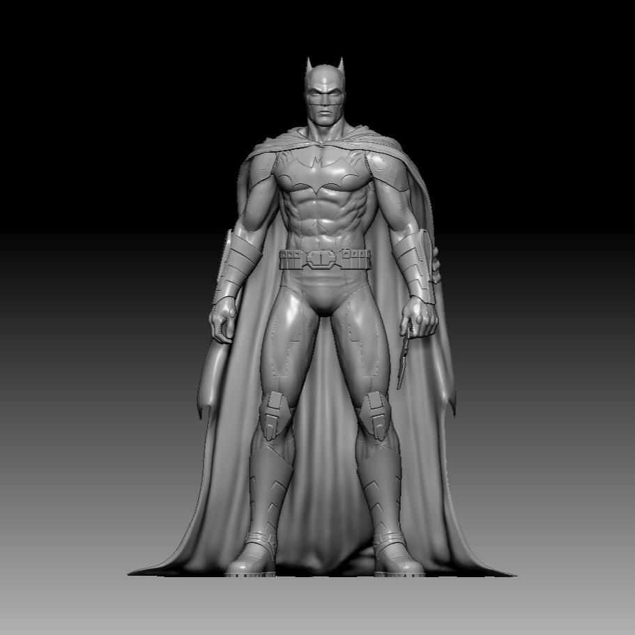 3D模型-蝙蝠侠