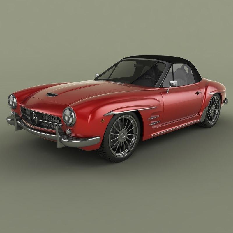 3D模型-老爷跑车