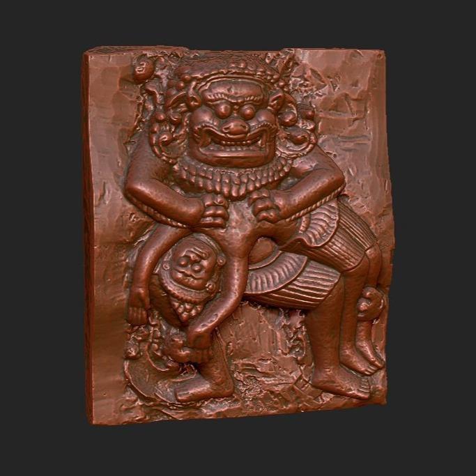 3D模型-古董文物原件3D扫描
