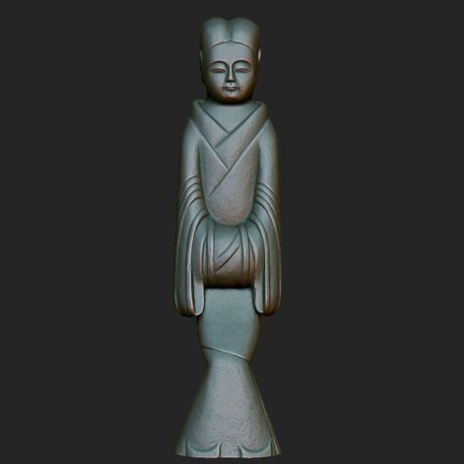 3D模型-文物古董原件3D扫描