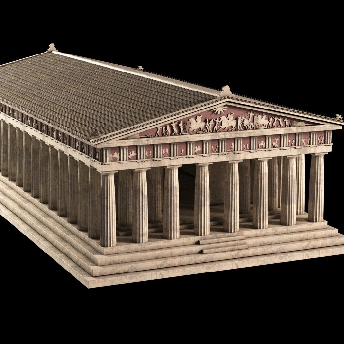 帕台农神庙( Parthenon)-3D打印