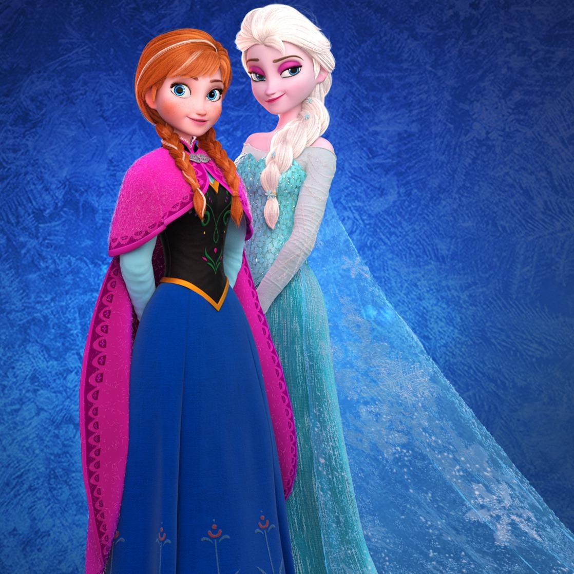 冰雪奇缘-安娜 艾莎 Elsa Anna-3D打印