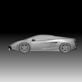 兰博基尼跑车模型