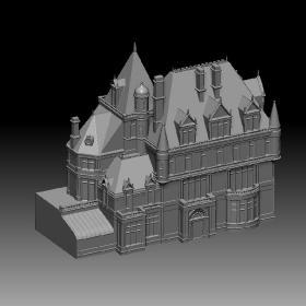 欧洲城堡建筑
