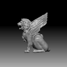 长翅膀的狮子